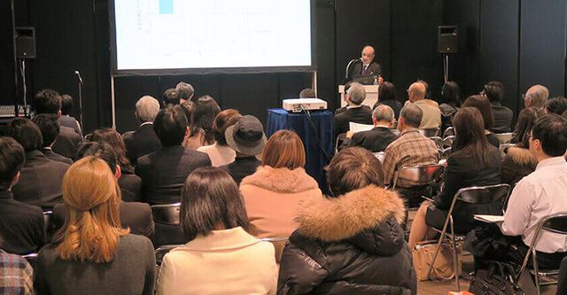 2019年1月23日(水)・24日(木)に開催された、統合医療展にて講演を行いました。